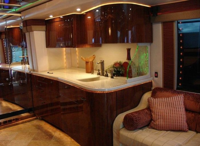 The Luxurious Motor Homes Of NASCAR Drivers