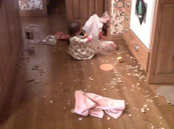 Proof That Kids Were Only Put On Earth To Destroy Things