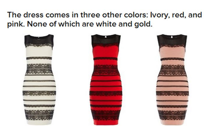 The Great Dress Debate Can Finally Be Put To Rest