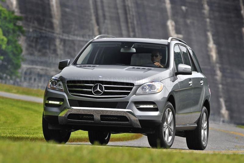 Mercedes-Benz ML-Class 2012, part 2012