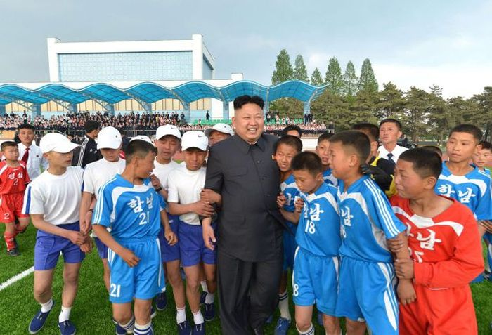 Pictures Of Kim Jong Un In Action