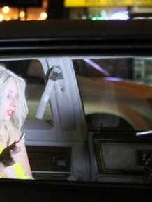 Lady Gaga's Breast Pops Out While She's Filming In New York City