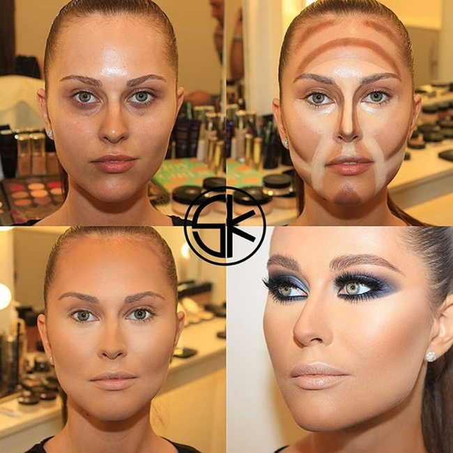 What A Difference Makeup Can Make