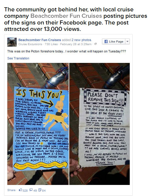 This Woman Got Her Man Thanks To An Awesome Sign