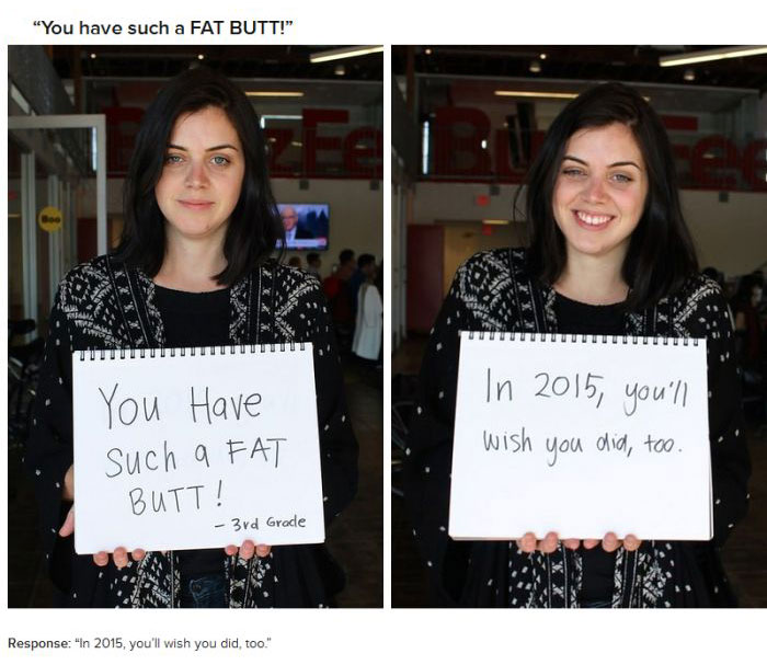 18 Women Respond To Mean Things People Said About Their Bodies