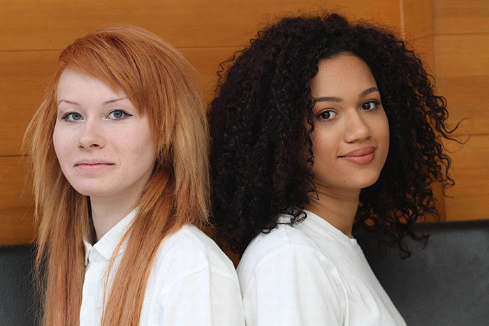 You Won't Believe These Two Girls Are Twins
