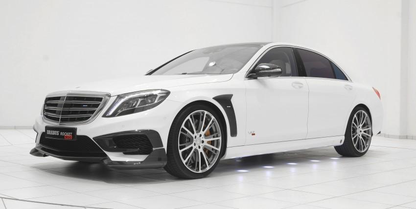 Mercedes-Benz S-class Brabus Rocket 900hp