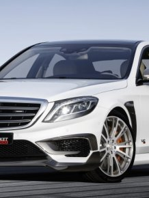 Mercedes-Benz S-class Brabus Rocket 900hp