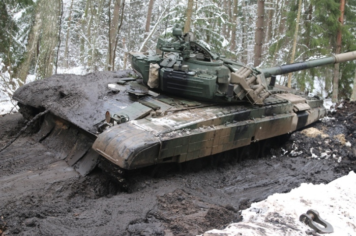These Polish Tanks Got Stuck In The Mud