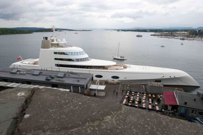 This Russian Billionaire Owns The World's Most Impressive Luxury Yacht