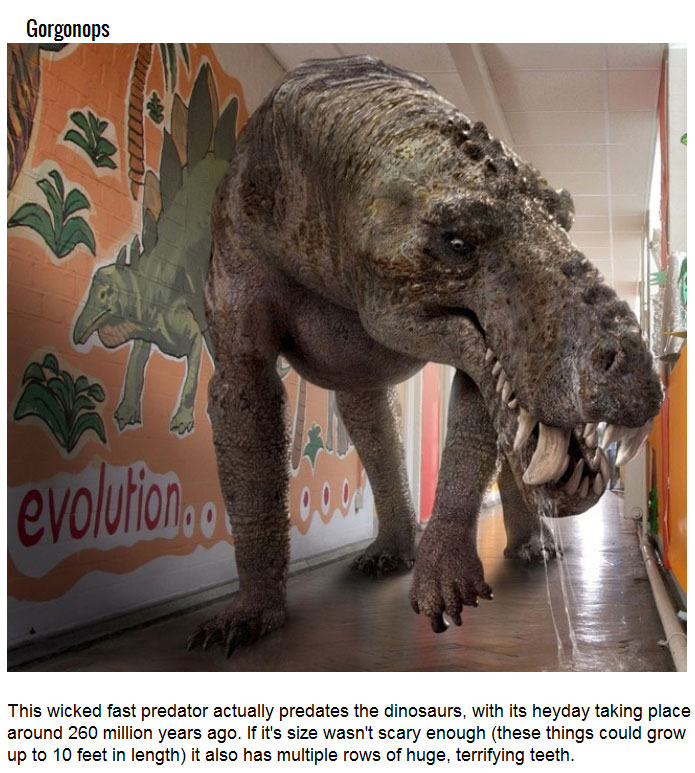 Prehistoric Creatures That Would Rule The World Today