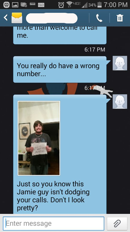 This Wrong Number Text Got Out Of Control