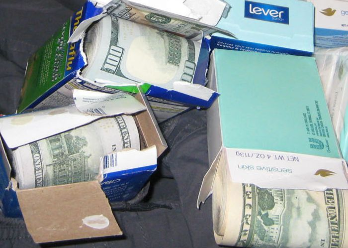 Man Busted At JFK With $770K In Hidden Cash