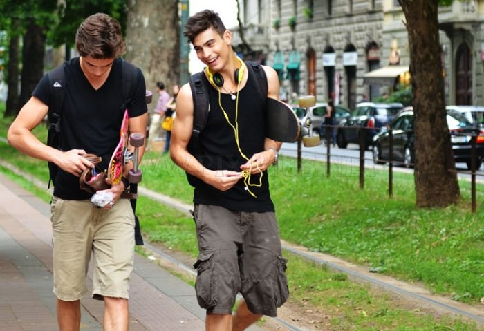 Boys on the Streets of Milan