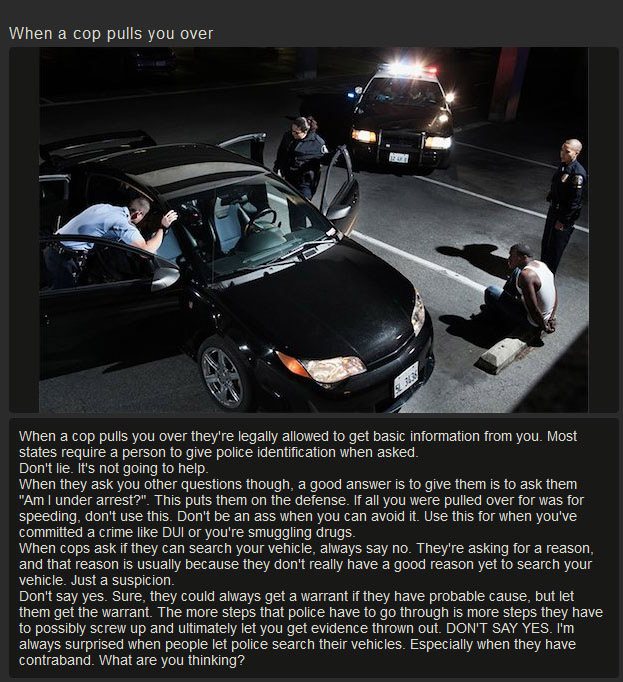 Helpful Tips On How To Deal With The Cops