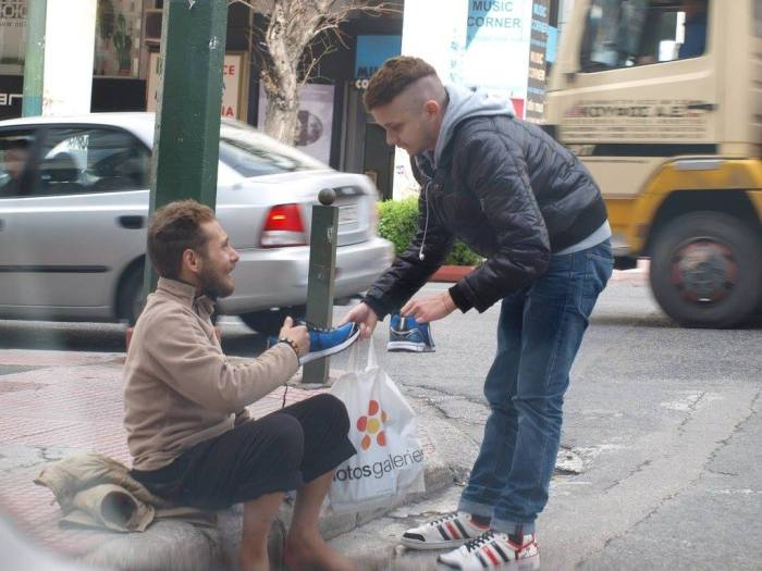 A Random Act Of Kindness Goes A Long Way