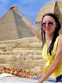 Tourist Shoots Adult Film At The Pyramids In Egypt