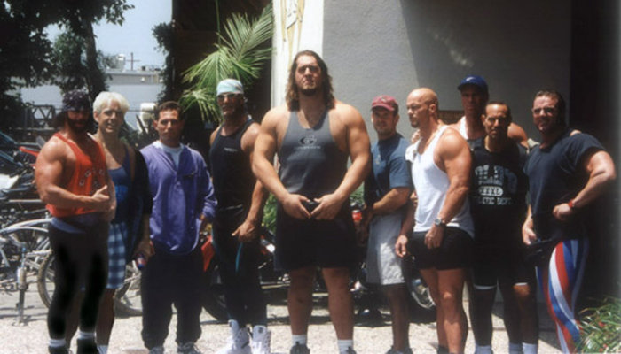 Pictures Of Wrestlers Outside The Ring