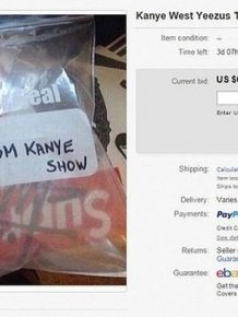 A Bag Of Air From Kanye West's Yeezus Tour Sold For Big Money