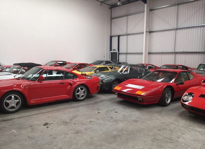 John Collins Buys Aladdin's Cave Of Classic Cars For $20 Million