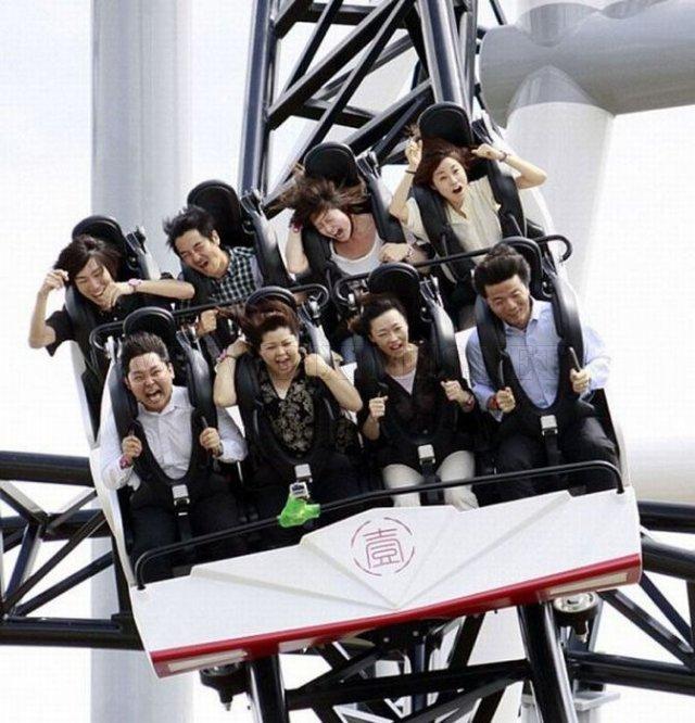 Takabisha, the World's Steepest Roller Coaster