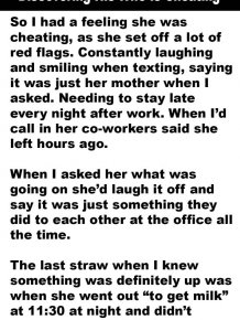 This Guy Got The Ultimate Revenge On His Cheating Wife
