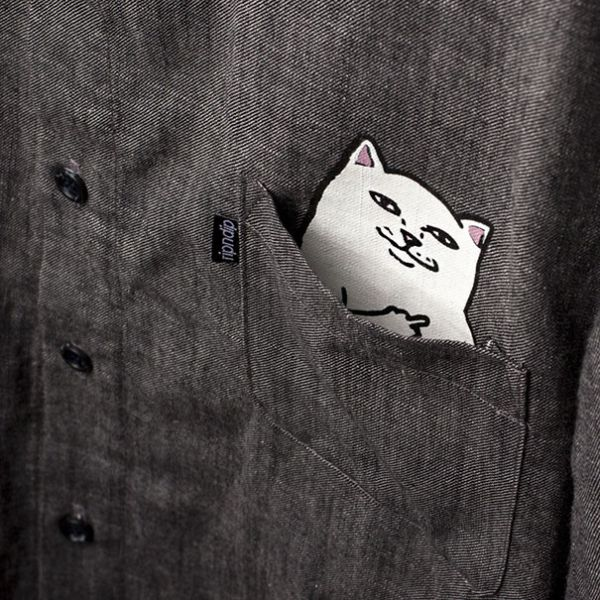 This Shirt Has A Cat In The Pocket And A Special Surprise