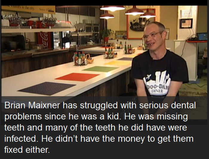 Wealthy Man Gives $25,000 Tip To Waiter So He Can Fix His Teeth