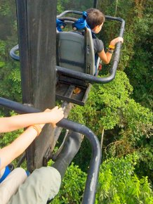 Sky Bike Gives You An Incredible Tour Of The Andean Cloud Forest