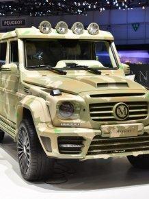 Mercedes-Benz G-class VS Land Rover Defender