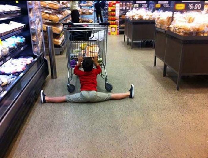 Kids That Have Been Completely Broken By Shopping