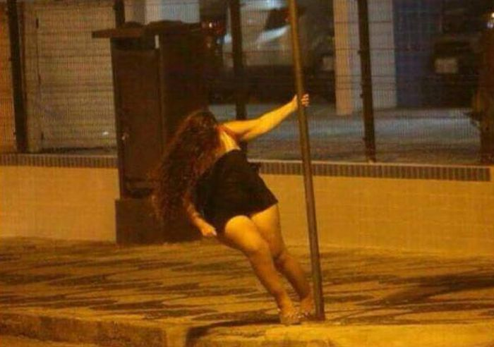 When Pole Dancing In The Street Ends Badly
