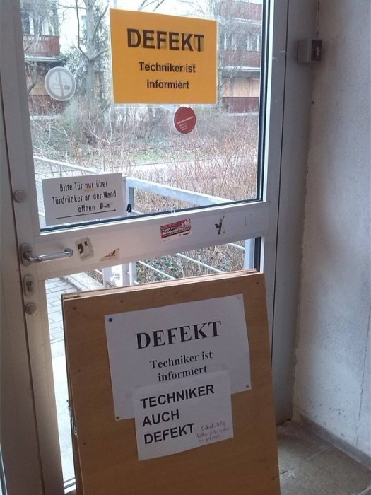 When This Door Broke Down In Germany The Meme Police Arrived