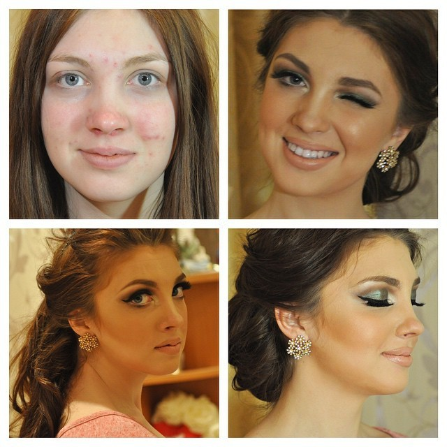 Before And After Photos Show Amazing Makeup ...