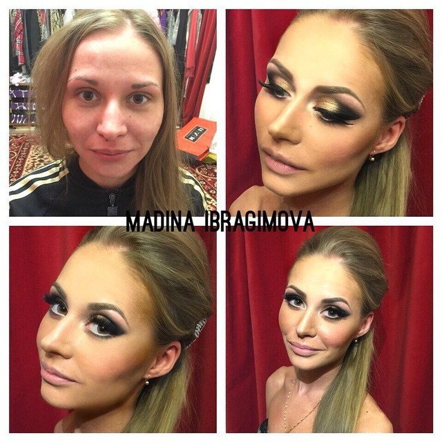 Before And After Photos Show Amazing Makeup Transformations