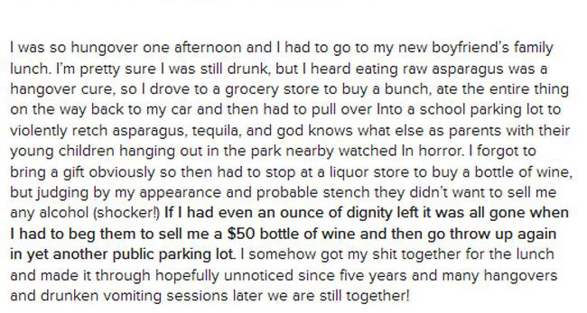 These Hangover Horror Stories Will Make You Want To Stay Away From Alcohol