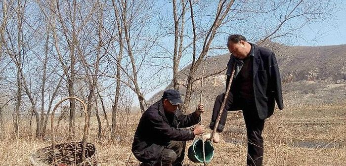 This Blind Man And His Friend With No Arms Planted 10,000 Trees In China