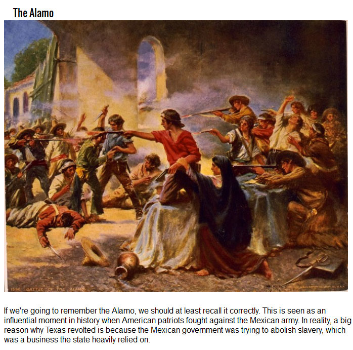 10 Things From History That Your Teachers Got Really Wrong
