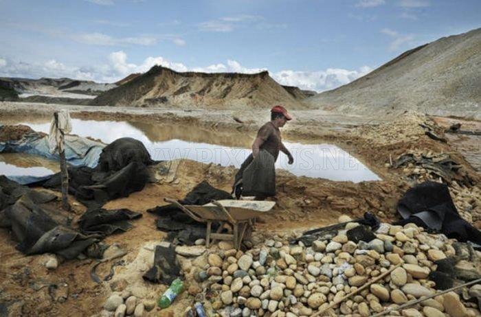 Gold Rush in Peru