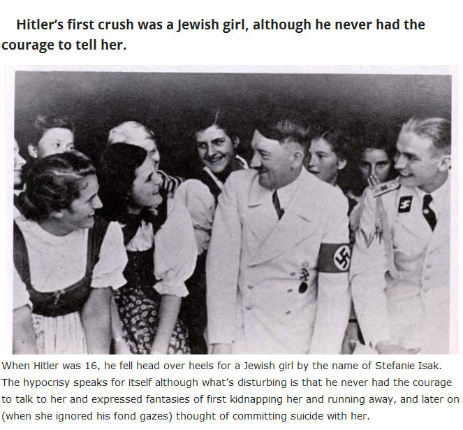Strange But True Facts About Adolf Hitler