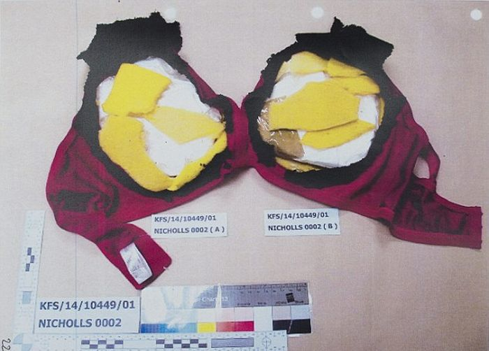Smuggler Gets Caught With $200,000 Worth Of Cocaine In Her 46D Bra