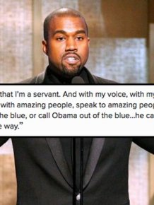 President Obama Shoots Down Kanye West's Claim That He Calls Him
