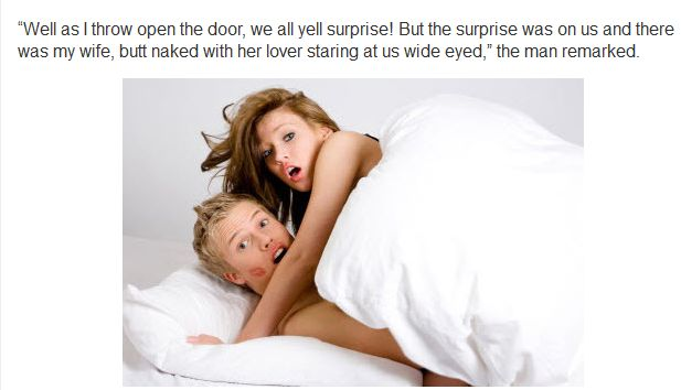Man Invites Everyone Over For A Surprise Party To Catch Cheating Wife