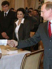 Alina Kabaeva, Vladimir Putinв's Girlfriend