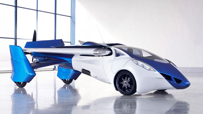 It's A Plane, It's A Car, It's The AeroMobil