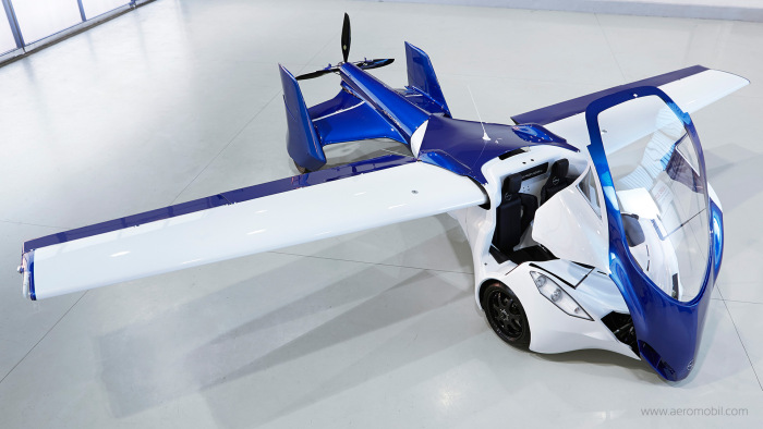 It's A Plane, It's A Car, It's The AeroMobil