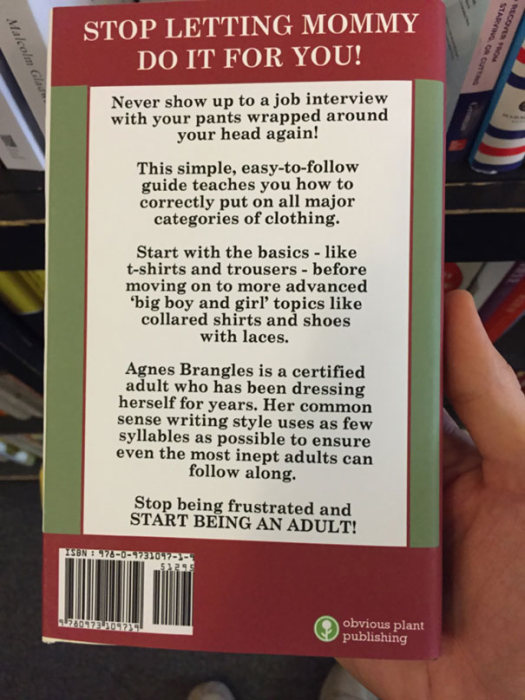 This Guy Is Leaving Hilarious Fake Self Help Books At A Local Bookstore