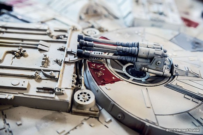 This Model Of The Millennium Falcon Took 4 Years To Make