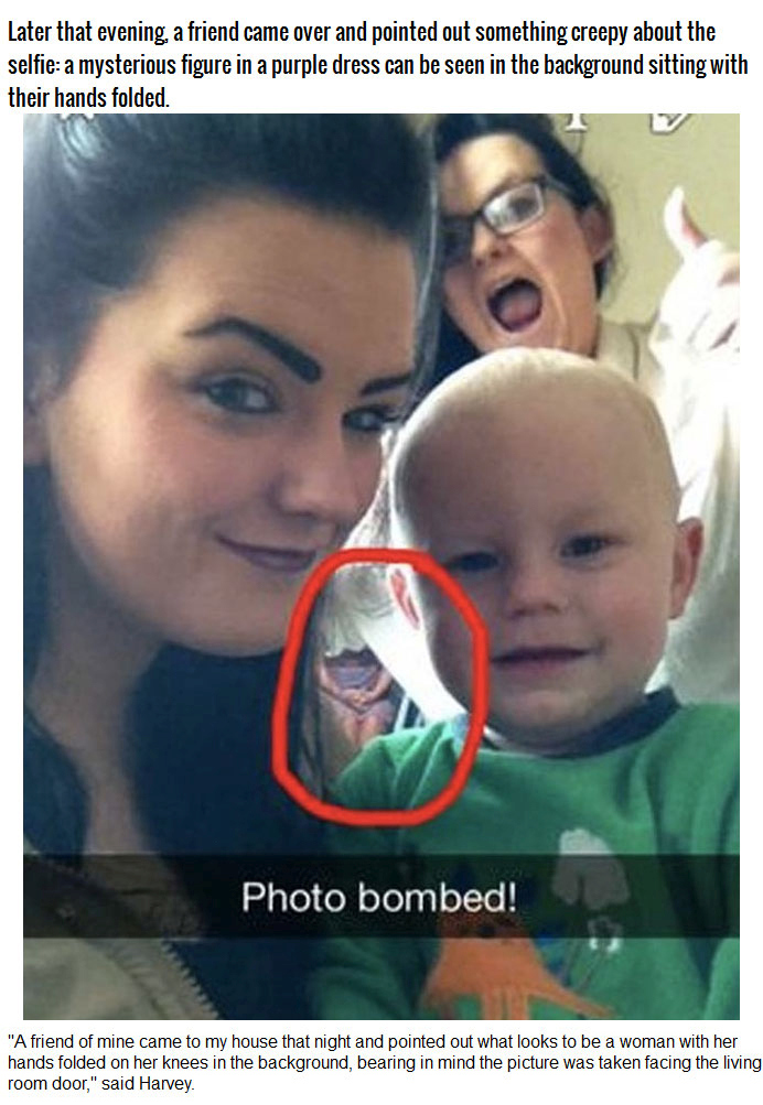Girl Discovered a Ghost In Her Selfie