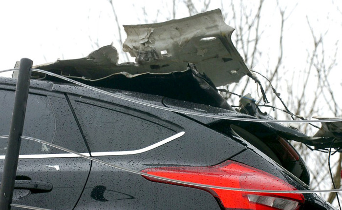 New Cars Destroyed After Collision With the Bridge